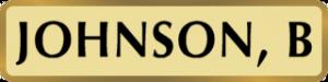 JOHNSON_B_nameplate
