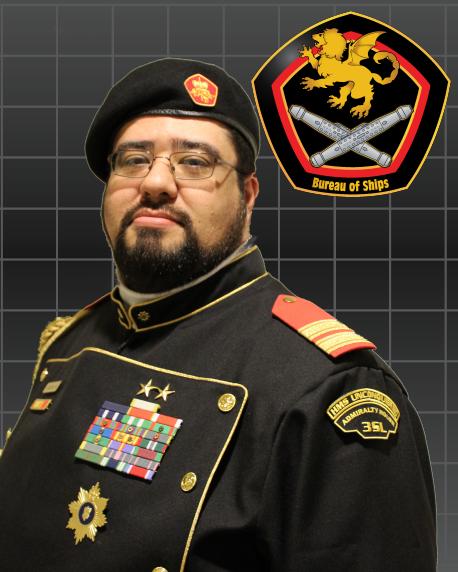 VADM Sir Michael D. Garcia, GCE, OC, KR, SC, OG, CGM, GS, RMN